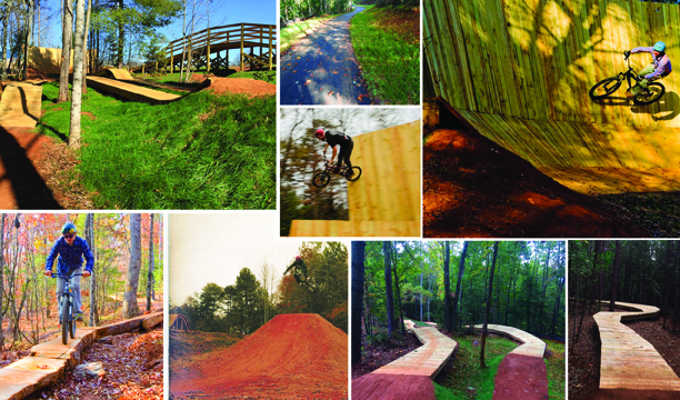 TOWN CREEK BIKE PARK OFFERS RIDING EXCELLENCE FOR ALL LEVELS
